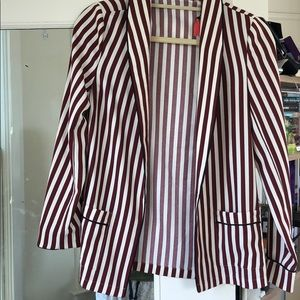 Scotch and soda striped blazer never worn